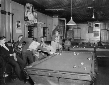 pool hall