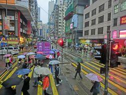 Hong Kong rain
